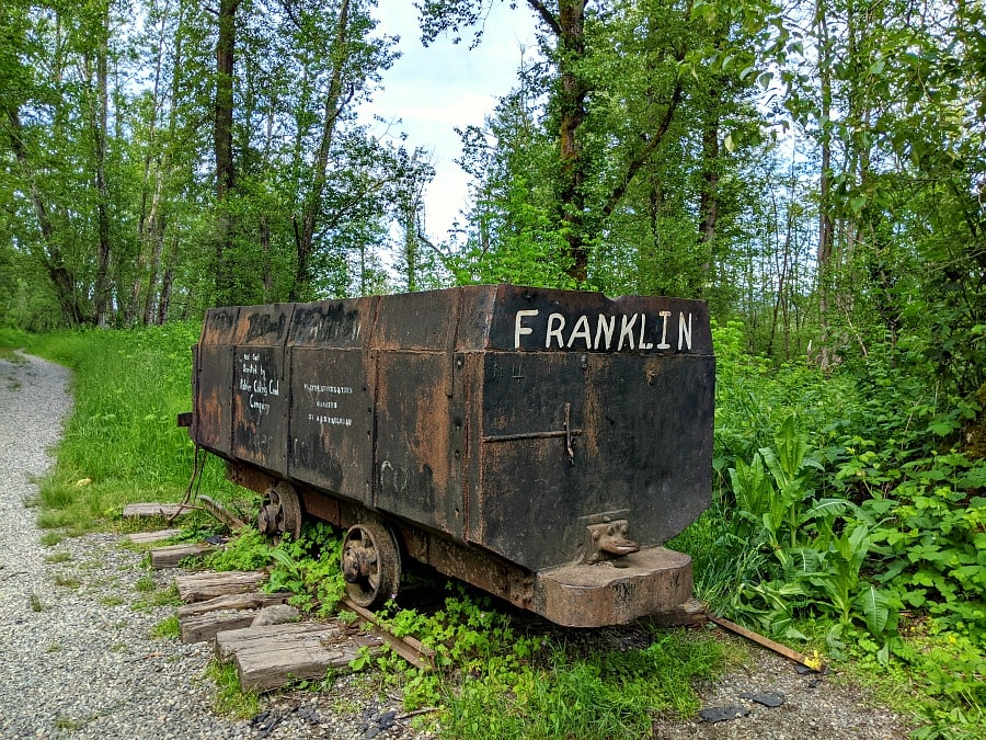 Franklin Ghost Town Coal Cart