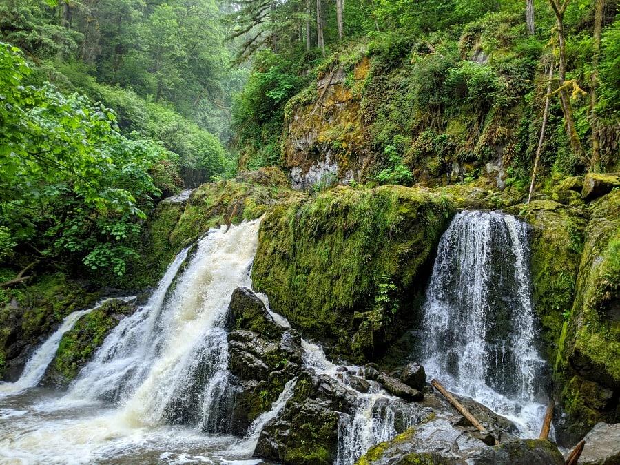 Lower Falls of Little Mashel Falls