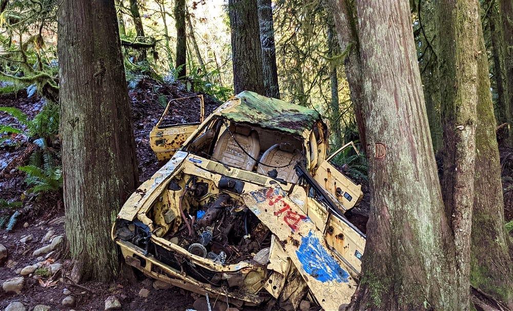 Old Car on Cherry Creek Trail