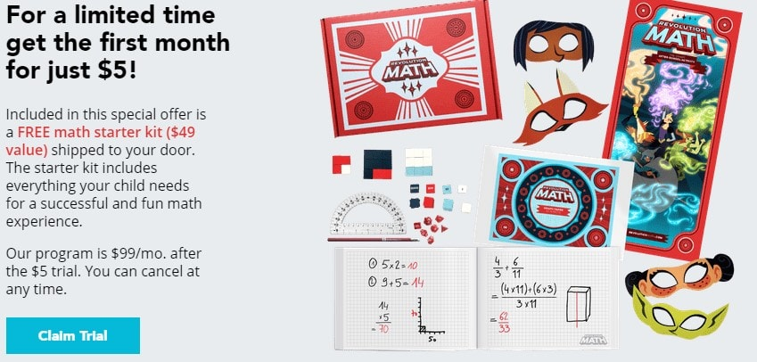 online math tutoring offer
