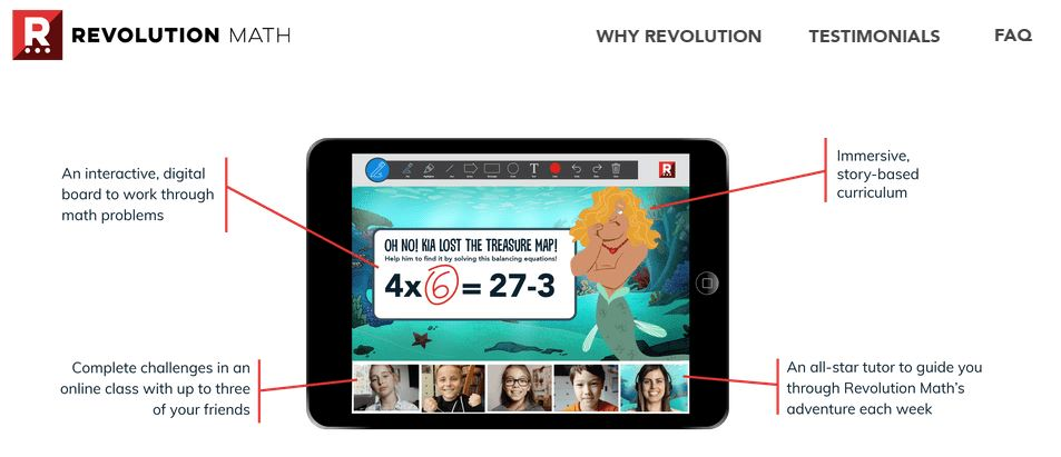 revolution math monthly trial offer