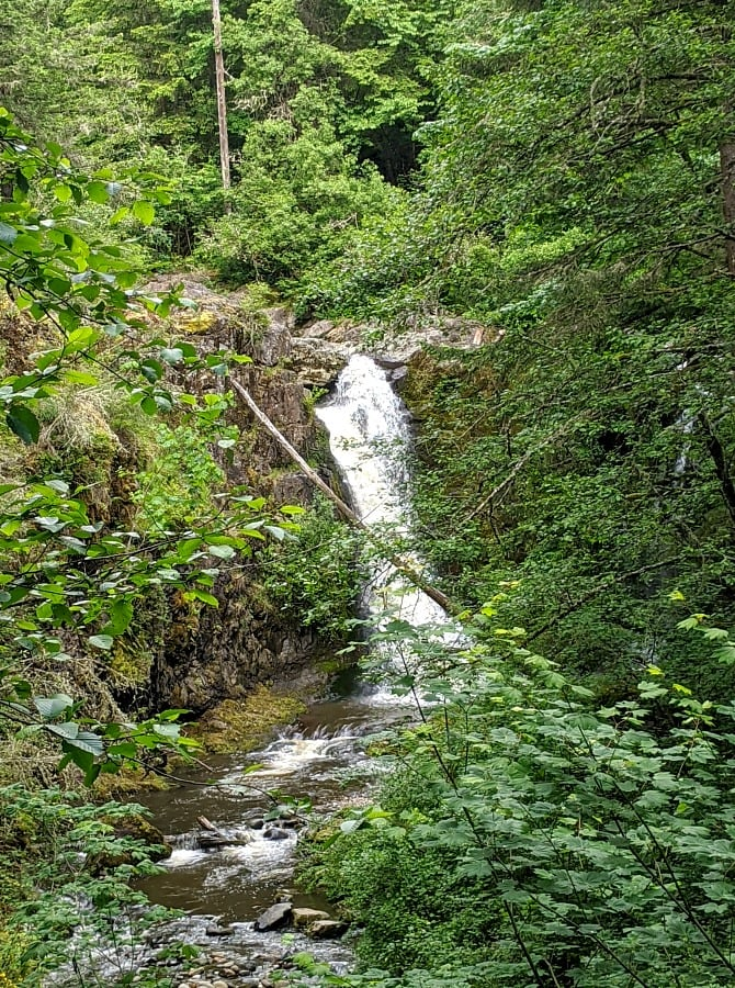 Upper Falls of Little Mashel Falls