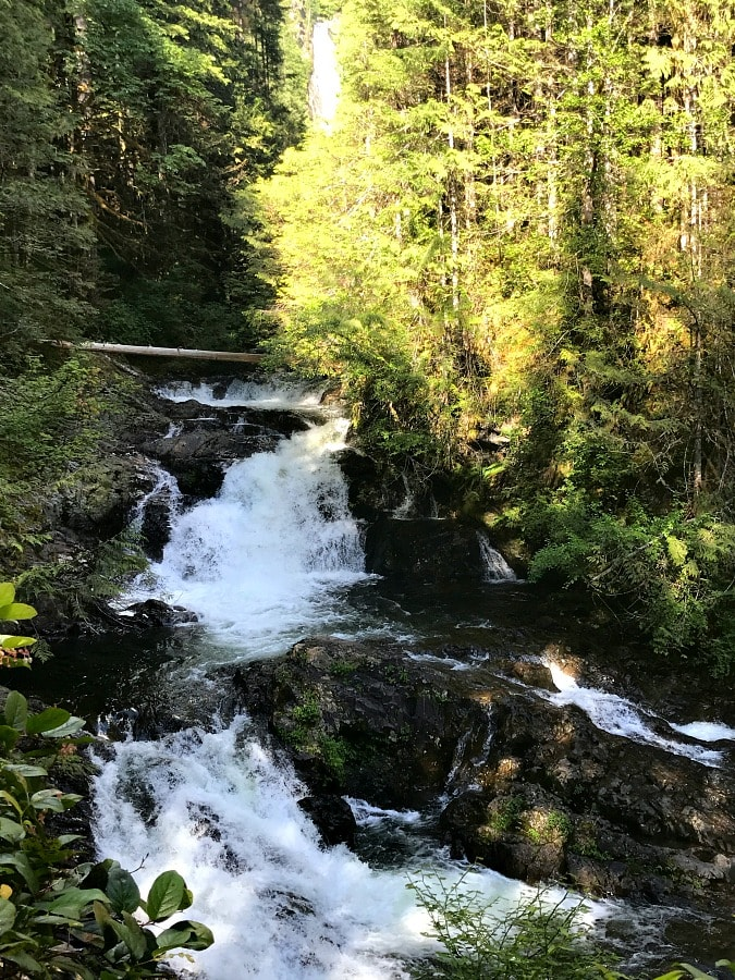Wallace River with Falls