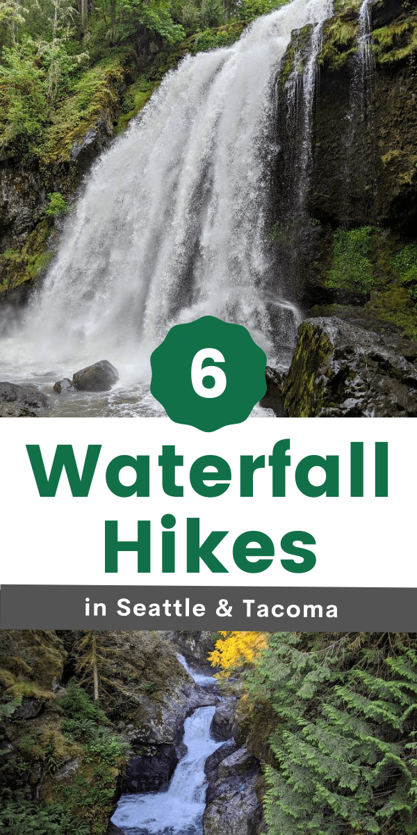 Waterfall HIkes around Seattle & Tacoma for Families