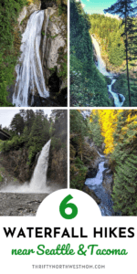 Waterfall hikes in Seattle & Tacoma for Families