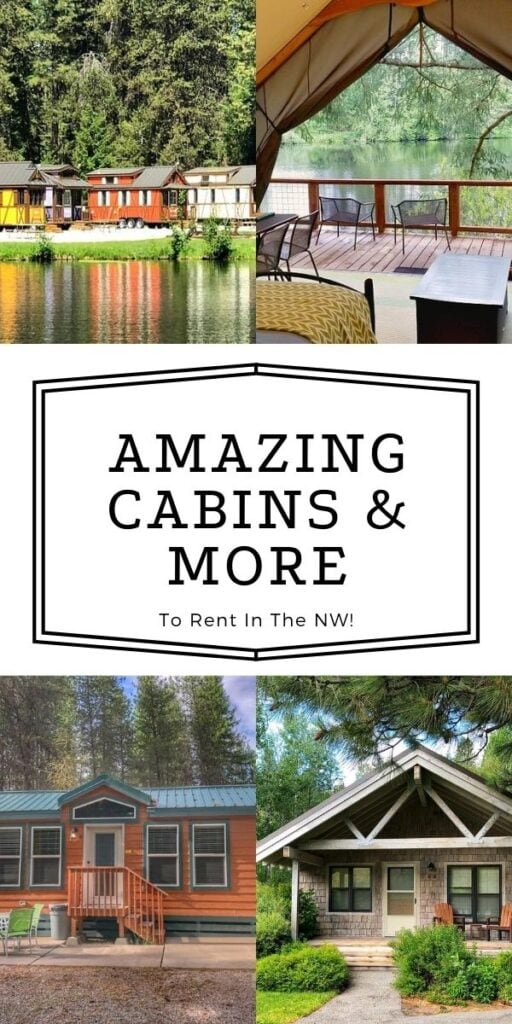 Tiny Houses, Yurts & Cabin In the NW – MANY Beautiful Options!