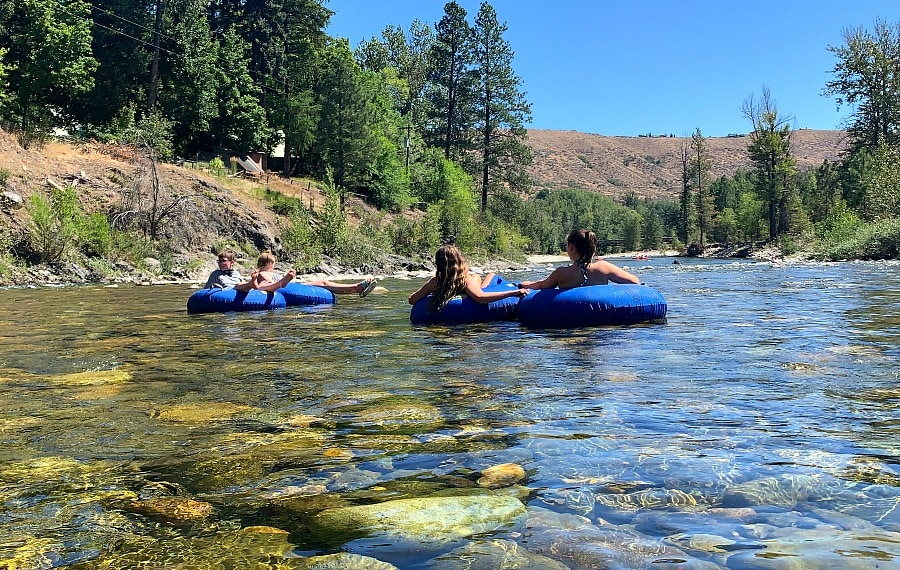 Floating the Methow River