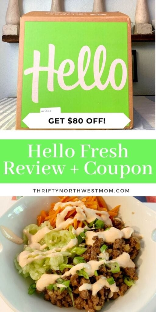 Hello Fresh Coupon & Review + $80 Off & Free Shipping + More Deals!