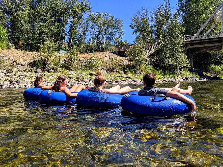 River Floating on the Methow River
