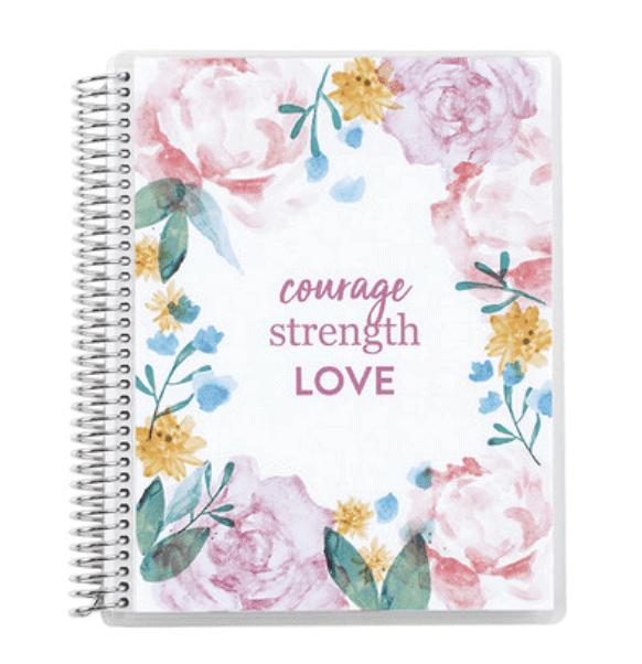 Watercolor Blooms Notebook