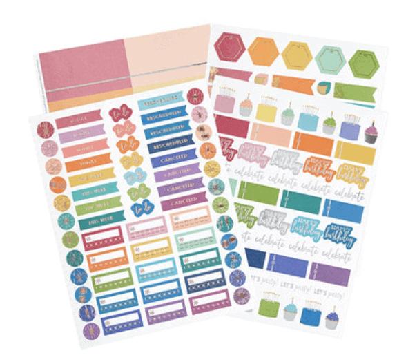 Erin Condren Life Planner Stickers