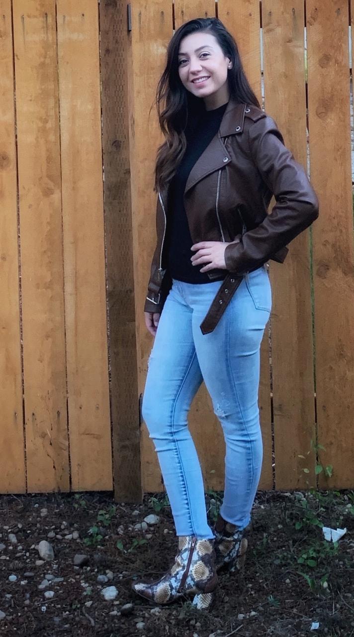 Levis Faux Leather Jacket