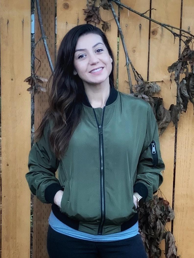 Bombers jacket on Amazon