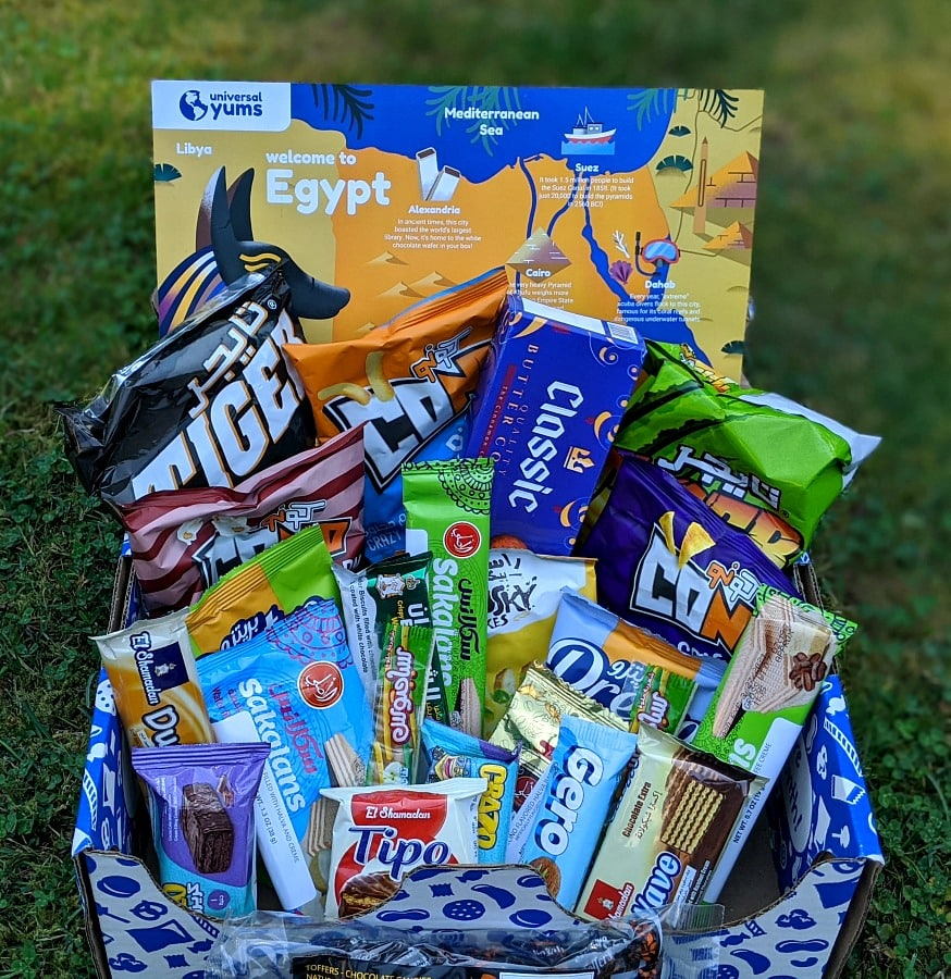 Egypt Universal Yums Box
