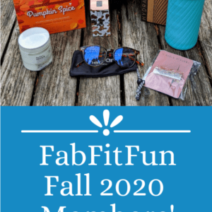 Fab Fit Fun Fall 2020 Box