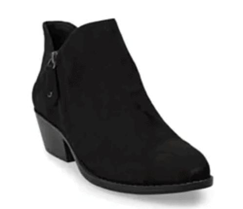 Kohls Black Booties