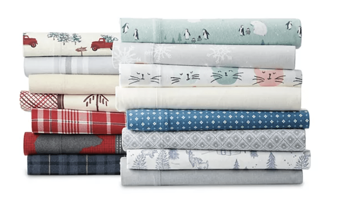 Cuddle Duds Flannel Sheets