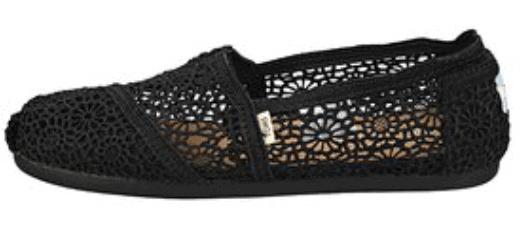 Toms Crochet Flats