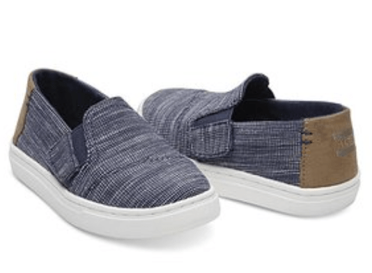 Toms Chambray Sneakers for kids