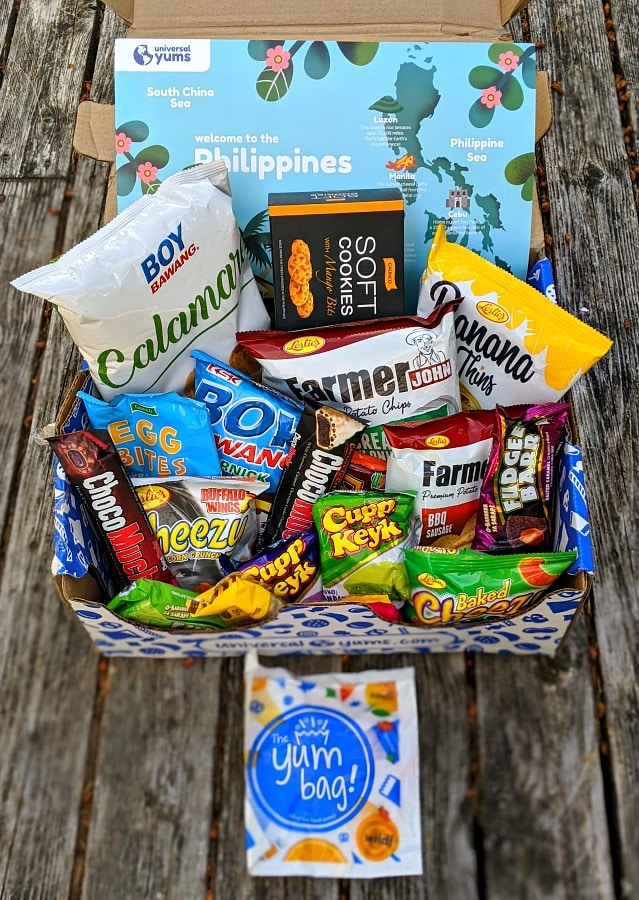 Universal Yums Box from Philippines