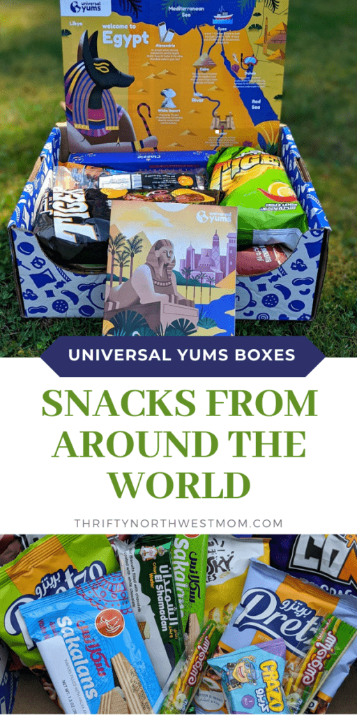 Universal Yums Reviews – Snacks from Around the World Box!