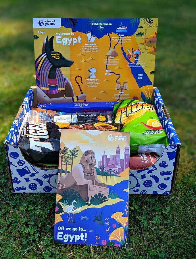 Universal Yums Subscription Box from Egypt