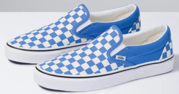 Checkered Vans on sale