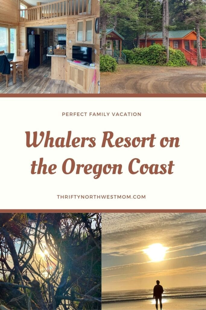 Whalers Resort – Stay In A Cabin with Ocean Access on the Oregon Coast!