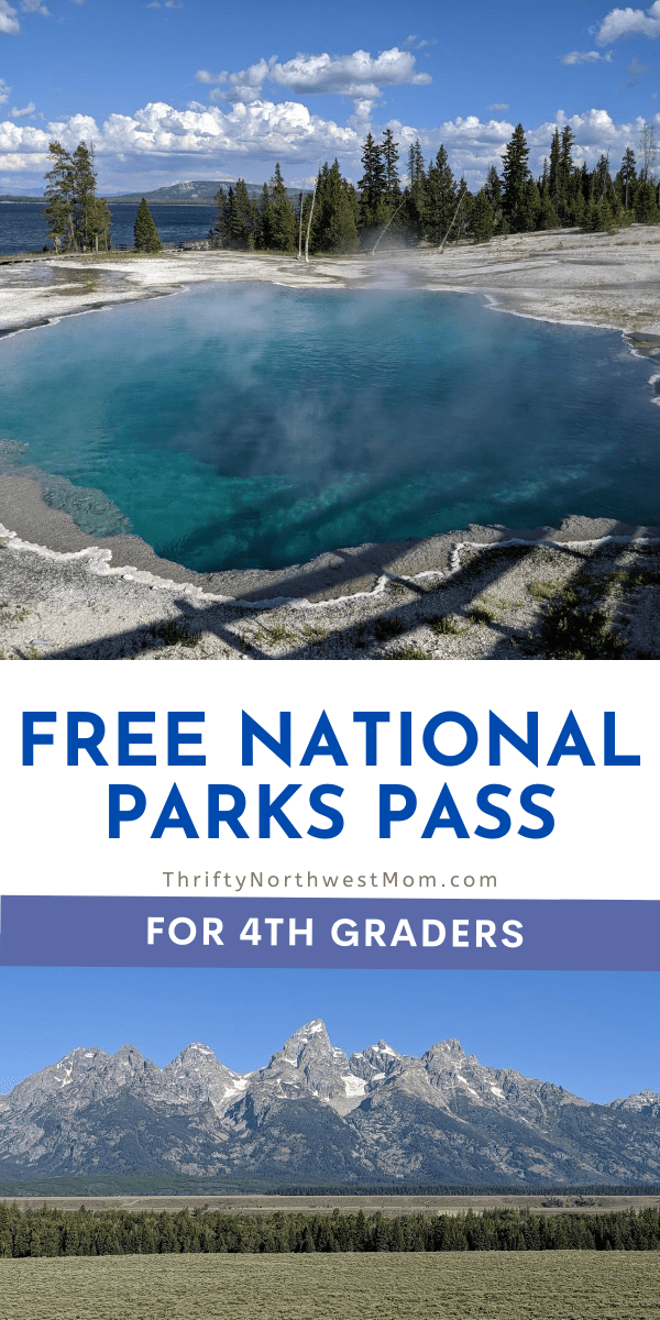 National Park Free Admission for 4th graders next year!