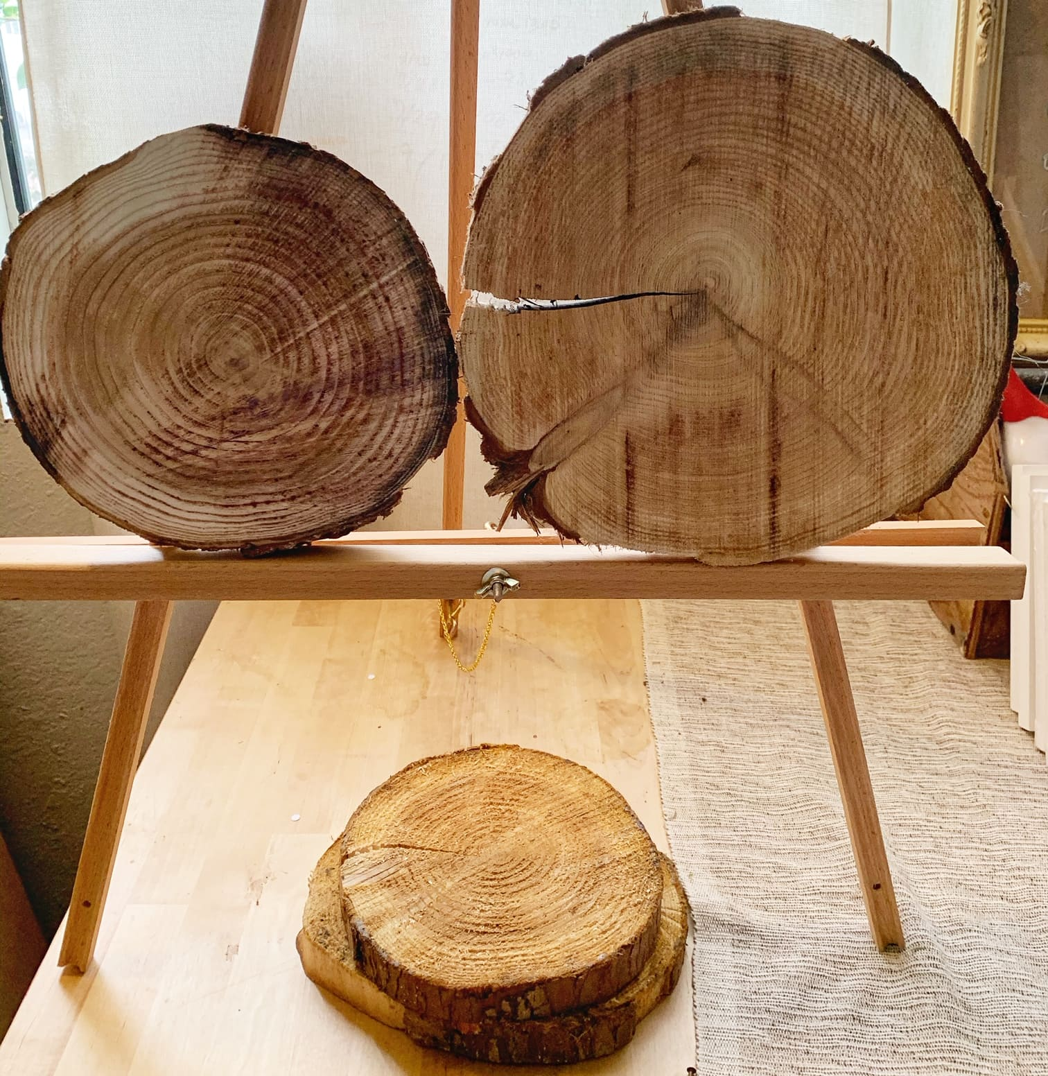 Wood Rounds