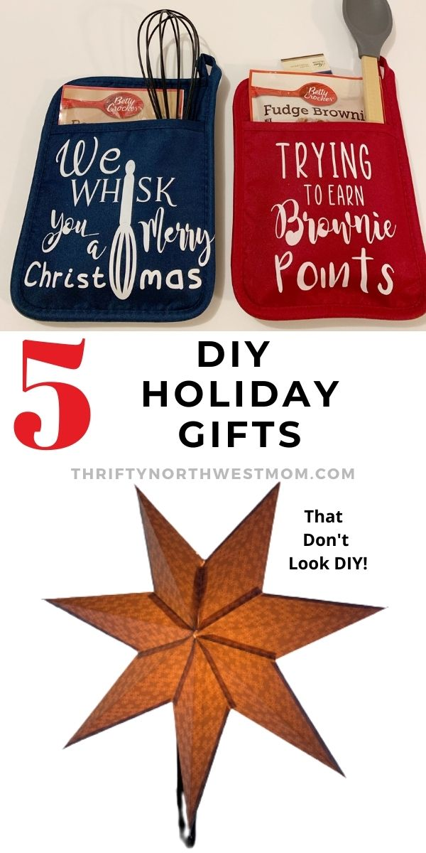 5 DIY Christmas Gifts with the Cricut