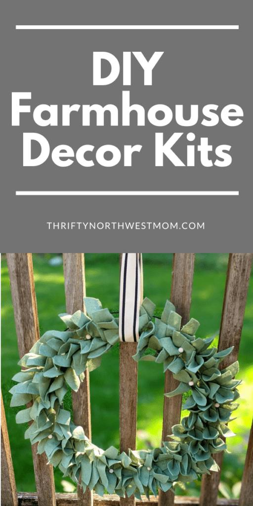 DIY Farmhouse Decor Kits – 50% Off First Kit!