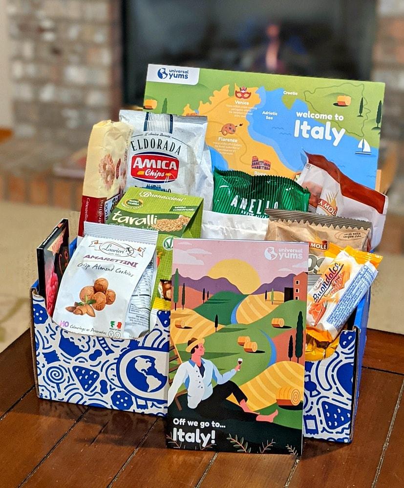 Italy Snack Box