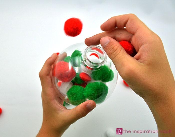 Kids Pom Pom Ornaments