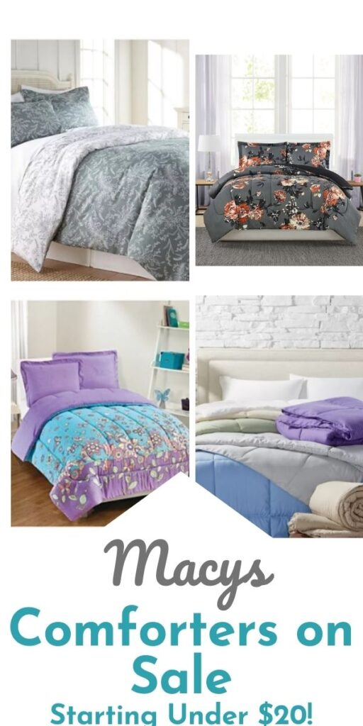 Macys Bedding Sale – Comforter Sets $23.99 (Reg $80) & More!