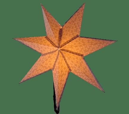 DIY Paper Lantern Stars