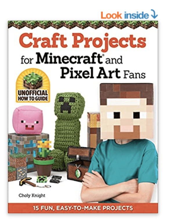 Craft Projects for MInecraft & Pixel art fans
