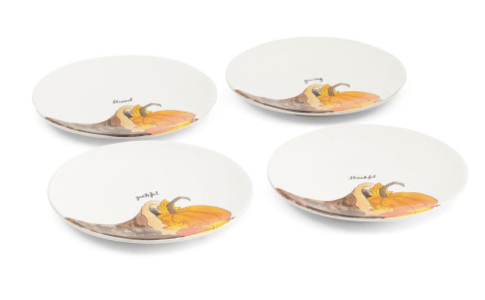 Rae Dunn Thanksgiving Plates