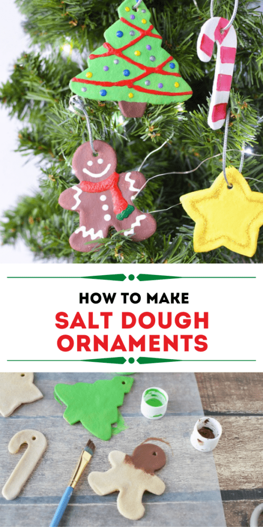 Salt Dough Ornaments for Christmas Activity