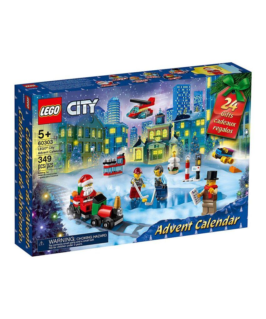Lego City Advent Calendar 2021 On Sale! $29.99