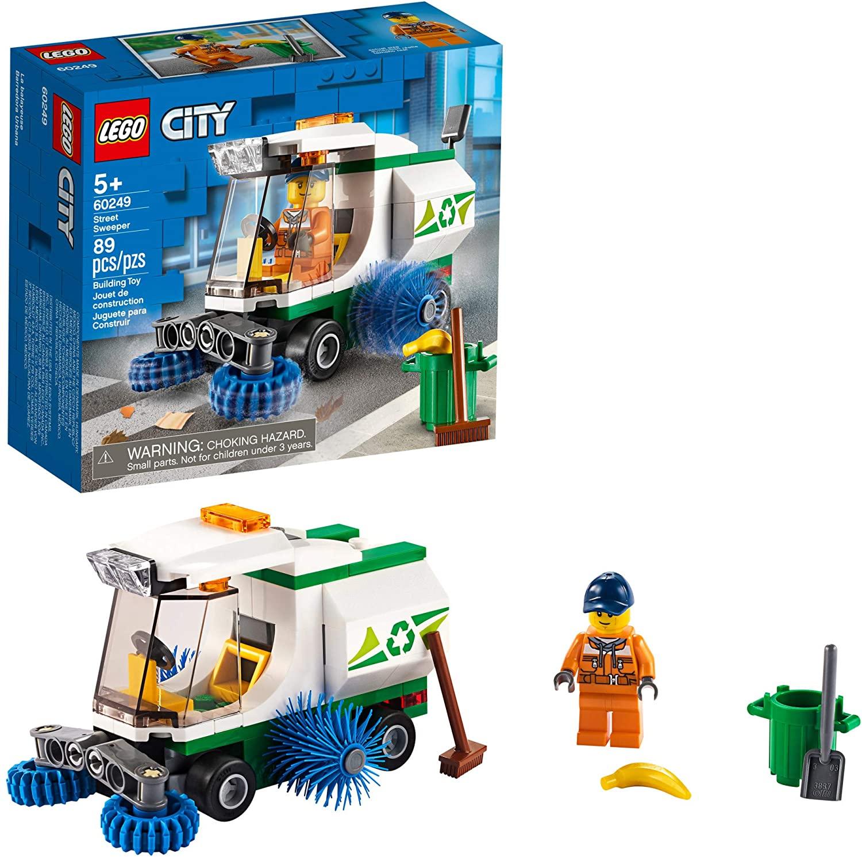 Lego City street sweeper set