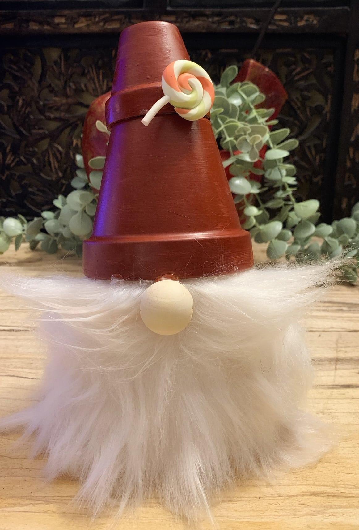 Terracotta Christmas Gnome