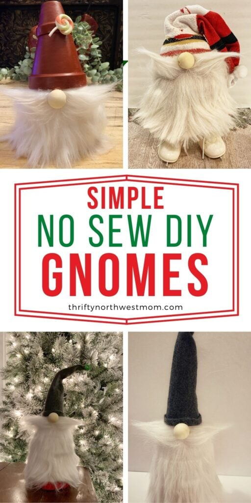 5 Adorable DIY Christmas Gnomes – No Sewing Required!