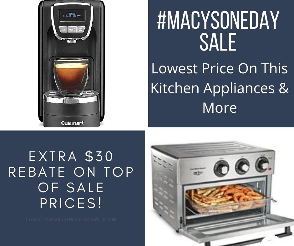 Macys One Day Sale + $30 Rebate Offer! #MacysOneDaySale
