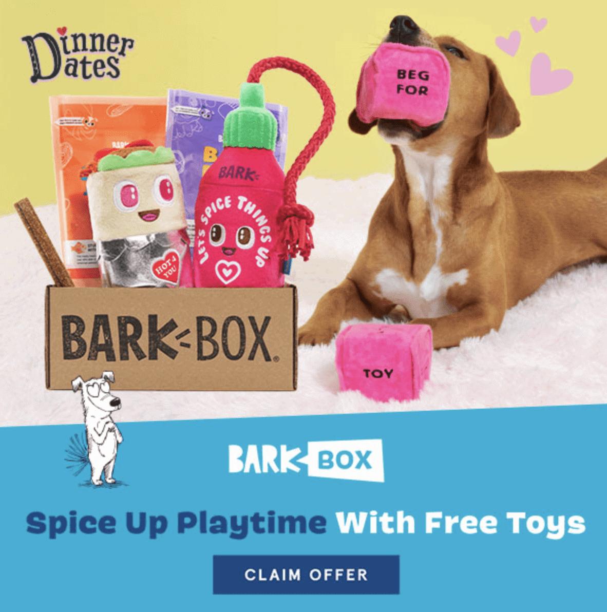 Barkbox Valentine Box