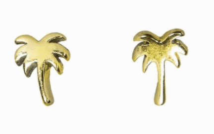Pura Vida Earrings Palm Trees