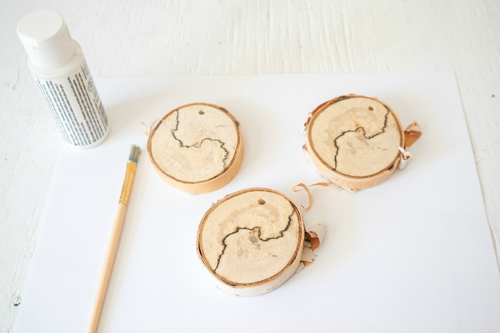 Wood Slices Ready to Paint for Ornaments