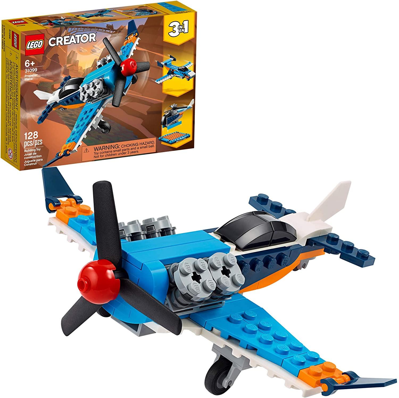Lego creator propeller plane set