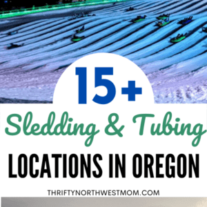 15+ Sledding & Tubing Locations in Oregon