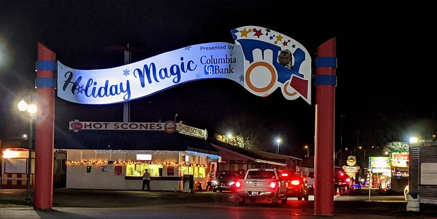 Holiday Magic & Food at the Washington State Fair